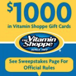 $1,000 Vitamin Shoppe Giveaway