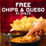Get a Free Order of Queso and Chips from Chili's