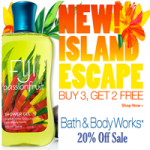 Bath and Body Works Coupon – 20% Off