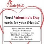 Give Valentines from Chick-fil-A