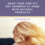 DIY Dry Shampoo for All Colors of Hair