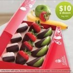 Chocolate Dipped Fruit at Edible Arrangements
