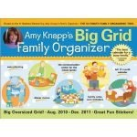 Amy Knapp's Big Grid Family Organizer Giveaway