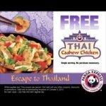 Free Food at Panda Express