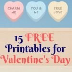15 FREE Printables for Valentine's Day