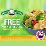 Another Free Panda Express Entree