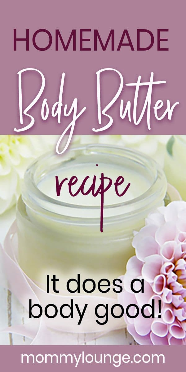 Homemade Body Butter Recipe & Healing Balm