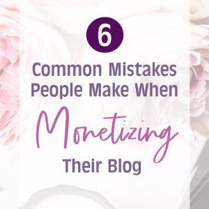 monetize blog tips