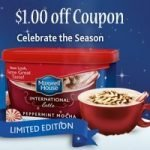 $1 off Pepperment Mocha Latte